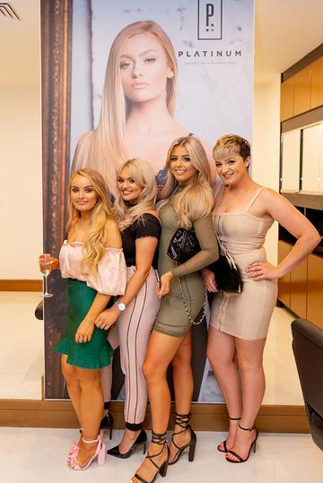 Platinum Hair Extensions launch in Galway
