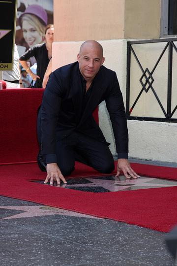 Vin Diesel Hollywood Walk of Fame