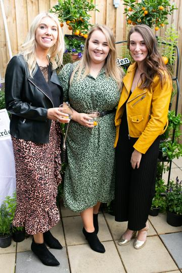 Marian Lehane and Kate Forde at the SuperValu Gin Garden held at Opium Rooftop Garden, Dublin.