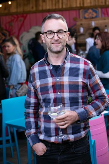 Paul McGough pictured at the SuperValu Gin Garden held at Opium Rooftop Garden, Dublin.