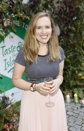 Nicola Brady at the launch of Taste the Island, a 12 week celebration of Ireland's seasonal ingredients, adventurous tastes and bold experiences taking place this September, October and November. Photo: Kieran Harnett
