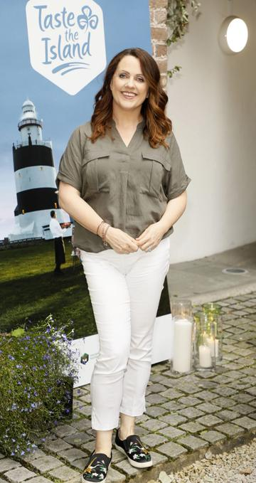Ruth Scott at the launch of Taste the Island, a 12 week celebration of Ireland's seasonal ingredients, adventurous tastes and bold experiences taking place this September, October and November. Photo: Kieran Harnett