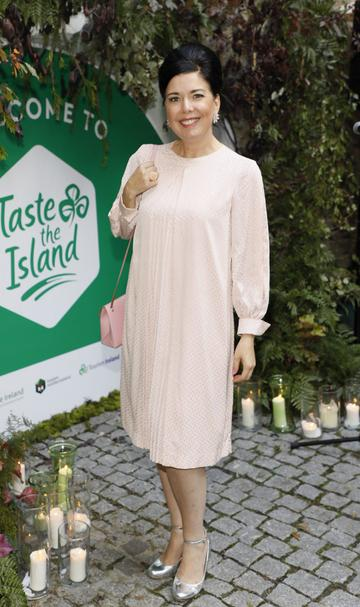 Sharon Hearne Smith at the launch of Taste the Island, a 12 week celebration of Ireland's seasonal ingredients, adventurous tastes and bold experiences taking place this September, October and November. Photo: Kieran Harnett