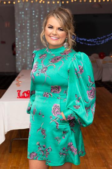 Gráinne Bleasdale pictured at the Valentine's Day Wrap Party of the soap opera Ros na Rún in Park Lodge Hotel, Spiddal.  Photo: Martina Regan.