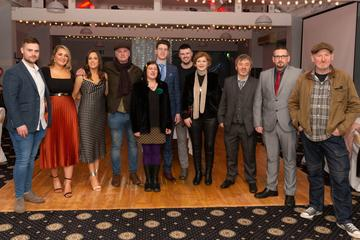 Guests pictured at the Valentine's Day Wrap Party of the soap opera Ros na Rún in Park Lodge Hotel, Spiddal.  Photo: Martina Regan.
