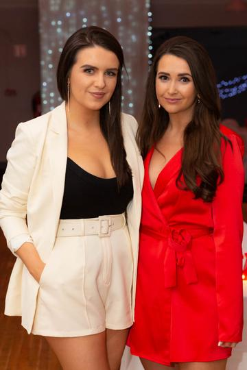Catriona Ní Dhomhnaill  and Brídín Ní Mhaoldomhnaigh pictured at the Valentine's Day Wrap Party of the soap opera Ros na Rún in Park Lodge Hotel, Spiddal.  Photo: Martina Regan.