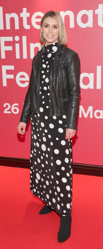 Kellie Billings at the World Premiere of Citizens of Boomtown at the Virgin Media Dublin International Film Festival at Cineworld, Dublin. Pic: Brian McEvoy Photography.