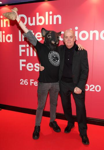 Billy McGrath at the World Premiere of Citizens of Boomtown at the Virgin Media Dublin International Film Festival at Cineworld, Dublin. Pic: Brian McEvoy Photography.