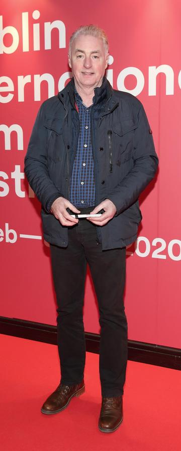 Dave Fanning at the Virgin Media Dublin International Film Festival Irish Premiere of Innocent Boy at the Lighthouse Cinema, Dublin. Pic: Brian McEvoy.