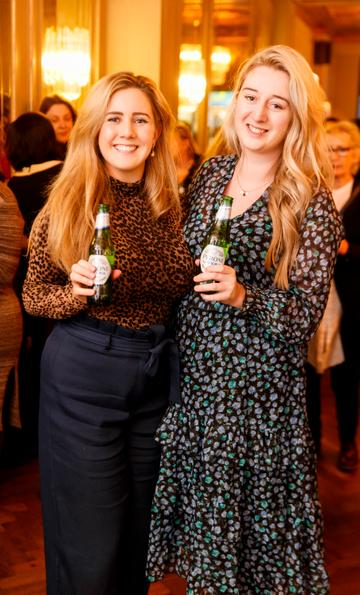 Marie Lynch and Shannon Cleary at the launch of Cinema di Peroni, celebrating Italy in the movies, and the latest addition to its portfolio Peroni Libera 0.0%. Cinema di Peroni Dublin took place at The Stella Cinema in Rathmines, screening the award nominated The Talented Mr. Ripley. Picture: Andres Poveda