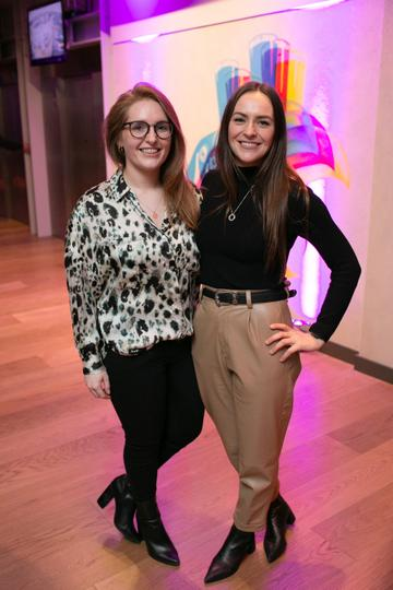 Jane Doddy (Diageo) and Estelle Johnston (Diageo)   pictured at the launch of the highly anticipated new Gravity Bar at the Guinness Storehouse. Photo by Richie Stokes.