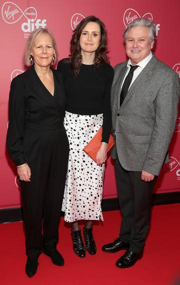 Guests at the Virgin Media Dublin International Film Festival Closing Gala screening of Herself at Cineworld, Dublin. Picture: Brian McEvoy.