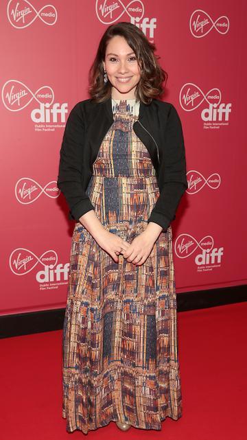 Anita Petry at the Virgin Media Dublin International Film Festival Closing Gala screening of Herself at Cineworld, Dublin. Picture: Brian McEvoy.