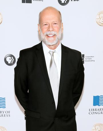 2018:  Actor Bruce Willis arrives at the Gershwin Prize Honoree's Tribute Concert at DAR Constitution Hall on November 15, 2017 in Washington, DC.  (Photo by Paul Morigi/Getty Images)