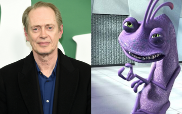 Steve Buscemi voiced the character of Randall in Monsters Inc in 2002. Photo by Jamie McCarthy via Getty Images/@2002 Disney All Rights Reserved.
