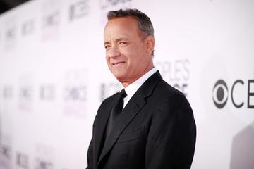 2017:  Actor Tom Hanks attends the People's Choice Awards 2017 at Microsoft Theater on January 18, 2017 in Los Angeles, California.  (Photo by Christopher Polk/Getty Images for People's Choice Awards)