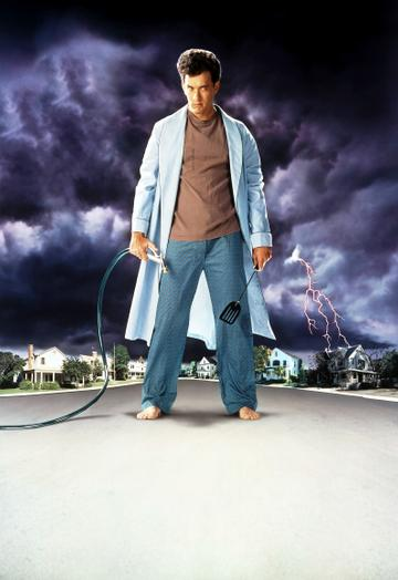 1989: Tom Hanks in movie art for the film 'The 'Burbs', 1989. (Photo by Universal/Getty Images)