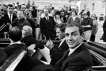 Sean Connery in Cannes, France on May 24, 1965.  (Photo by REPORTERS ASSOCIES/Gamma-Rapho via Getty Images)