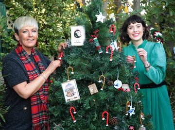 Mary Keogh and Martha O'Brien Keogh of Mimi and Martha Interiors and Lifestyle pictured as they announced that  Virgin Media'sIreland AM is calling on local Irish businesses to feature in its#BackingLocalcampaign which gives businessesthe opportunity to promote their service or product to the nationin the run up to the festive season   Image credit: Virgin Media