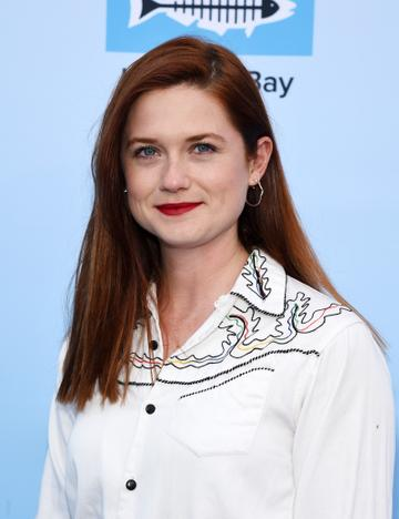 Bonnie Wright portrayed Ron's sister Ginny Weasley in the films. She has since gone on to direct and appear in short films. She also partook in The Great Sport Relief Bake Off and works as an activist for Greenpeace.  (Photo by Amanda Edwards/Getty Images)