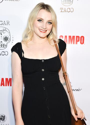 Louth born Evanna Lynch starred as the ethereal Luna Lovergood.  She is a committed activist, working with JK Rowling's 'Lumos' charity. She has gone on to do voice work and hosts a vegan focused podcast.  (Photo by Rodin Eckenroth/Getty Images)