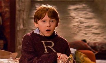 """Ron Weasley played by Ruert Grint. Grint has found success on TV with roles on Netflix's """"Sick Note,"""" Crackle's """"Snatch,"""" and Apple TV Plus' """"Servant.""""  Image credit: Warner Bros"""