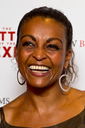 Adjoa Andoh plays the role of Lady Danbury. The Bristol-born actress is well respected in the theatre world. She has also appeared in Casualty, Doctor Who and Eastenders.   (Photo by Ben Pruchnie/Getty Images)