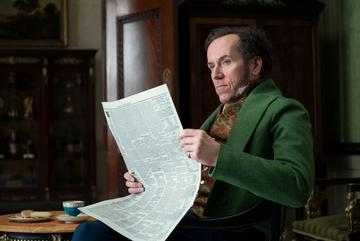 Ben Miller, best known as one half of duo Armstrong and Miller, stars as Lord Featherington. You might recognise the BAFTA-winning actor from films such as Paddington and Johnny English.  Image credit: Netflix (2020)