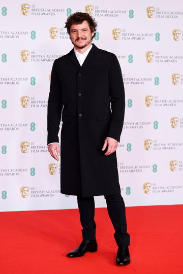Awards Presenter Pedro Pascal attends the EE British Academy Film Awards 2021 at the Royal Albert Hall on April 11, 2021 in London, England. (Photo by Jeff Spicer/Getty Images)