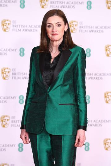 Amanda Berry, Chief Executive of the British Academy of Film and Television Arts attends the EE British Academy Film Awards 2021 at the Royal Albert Hall on April 11, 2021 in London, England. (Photo by Jeff Spicer/Getty Images)