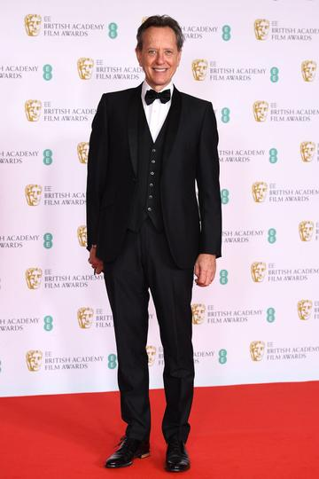 Awards Presenter Richard E. Grant attends the EE British Academy Film Awards 2021 at the Royal Albert Hall on April 11, 2021 in London, England. (Photo by Jeff Spicer/Getty Images)