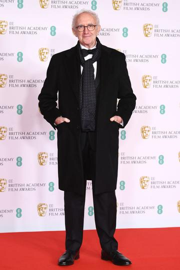 Awards Presenter Jonathan Pryce attends the EE British Academy Film Awards 2021 at the Royal Albert Hall on April 11, 2021 in London, England. (Photo by Jeff Spicer/Getty Images)