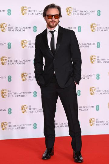 Awards Presenter James McAvoy attends the EE British Academy Film Awards 2021 at the Royal Albert Hall on April 11, 2021 in London, England. (Photo by Jeff Spicer/Getty Images)