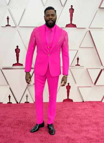 Colman Domingo attends the 93rd Annual Academy Awards at Union Station on April 25, 2021 in Los Angeles, California. (Photo by Chris Pizzello-Pool/Getty Images)