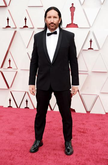 Trent Reznor attends the 93rd Annual Academy Awards at Union Station on April 25, 2021 in Los Angeles, California. (Photo by Matt Petit/A.M.P.A.S. via Getty Images)