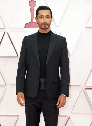Riz Ahmed attends the 93rd Annual Academy Awards at Union Station on April 25, 2021 in Los Angeles, California. (Photo by Matt Petit/A.M.P.A.S. via Getty Images)