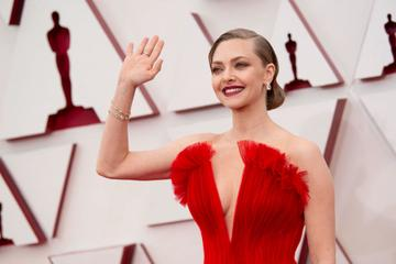 Amanda Seyfried attends the 93rd Annual Academy Awards at Union Station on April 25, 2021 in Los Angeles, California. (Photo by Matt Petit/A.M.P.A.S. via Getty Images)