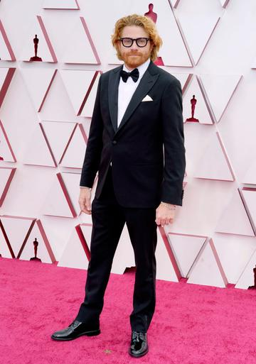 Erik Messerschmidt attends the 93rd Annual Academy Awards at Union Station on April 25, 2021 in Los Angeles, California. (Photo by Chris Pizzello-Pool/Getty Images)