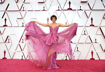 Halle Berry attends the 93rd Annual Academy Awards at Union Station on April 25, 2021 in Los Angeles, California. (Photo by Matt Petit/A.M.P.A.S. via Getty Images)