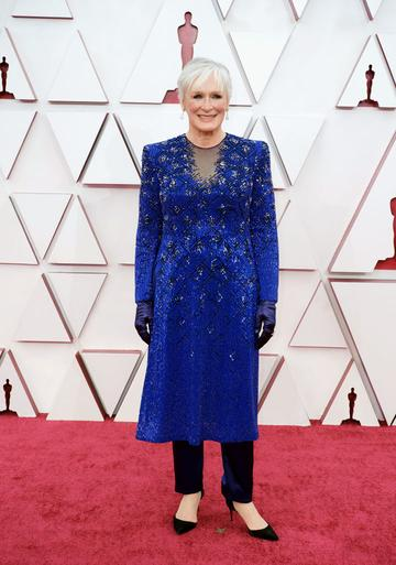 Glenn Close attends the 93rd Annual Academy Awards at Union Station on April 25, 2021 in Los Angeles, California. (Photo by Matt Petit/A.M.P.A.S. via Getty Images)