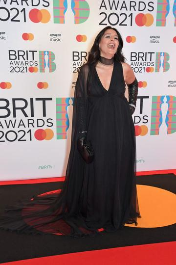 Jessie Ware arrives at The BRIT Awards 2021 at The O2 Arena on May 11, 2021 in London, England.  (Photo by David M. Benett/Dave Benett/Getty Images)