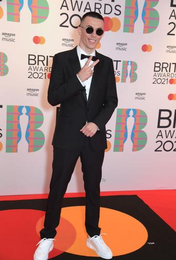 Regard arrives at The BRIT Awards 2021 at The O2 Arena on May 11, 2021 in London, England.  (Photo by David M. Benett/Dave Benett/Getty Images)