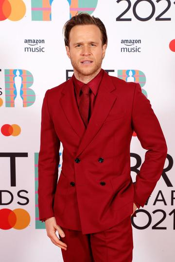 Olly Murs attends The BRIT Awards 2021 at The O2 Arena on May 11, 2021 in London, England. (Photo by JMEnternational/JMEnternational for BRIT Awards/Getty Images)