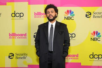 The Weeknd poses backstage for the 2021 Billboard Music Awards, broadcast on May 23, 2021 at Microsoft Theater in Los Angeles, California. (Photo by Rich Fury/Getty Images for dcp)