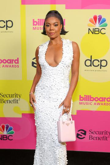 Gabrielle Union poses backstage for the 2021 Billboard Music Awards, broadcast on May 23, 2021 at Microsoft Theater in Los Angeles, California. (Photo by Rich Fury/Getty Images for dcp)