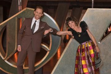 """Tom Hiddleston and Sophia Di Martino attend a special preview screening of Marvel Studios """"Loki"""" presented by Disney+ on June 8, 2021 in London, England. (Photo by David M. Benett/Dave Benett/WireImage)"""