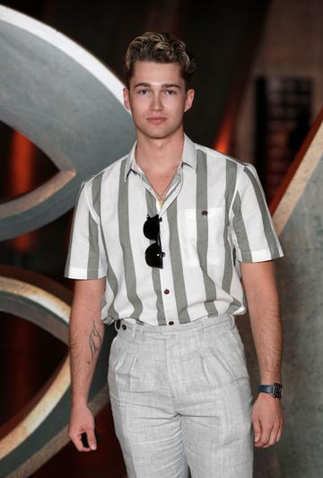 AJ Pritchard attends the Special Screening of Marvel Studios' series LOKI on June 08, 2021 in London, England. LOKI will stream exclusively on Disney+ from Wednesday June 9, with new episodes every Wednesday. (Photo by John Phillips/Getty Images for Walt Disney Studios Motion Pictures UK)