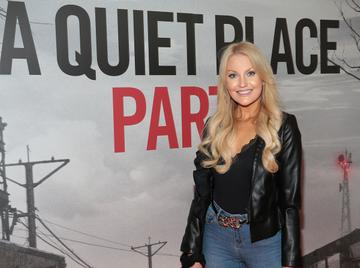 Model Kerrie Nicole Blanc pictured at the 'A Quiet Place Part II 'screening at the Odeon Cinema in Point Square ,Dublin. Picture  Brian McEvoy/ PIP
