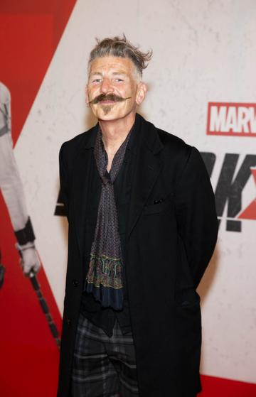 Jerry Fish pictured at the Irish Special Preview Screening Marvel Studios Black Widow. Picture Andres Poveda