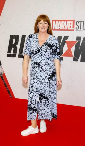 Bláthnaid Ní Chofaigh pictured at the Irish Special Preview Screening Marvel Studios Black Widow. Picture Andres Poveda